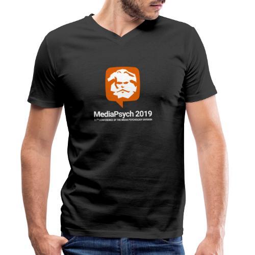 Shirt Logo - Männer Bio-T-Shirt mit V-Ausschnitt von Stanley & Stella