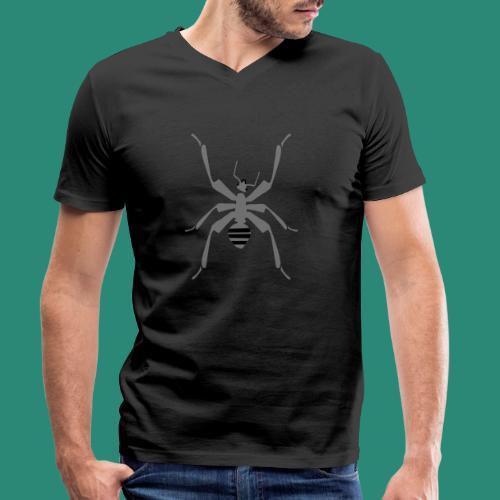 Ameise - Männer Bio-T-Shirt mit V-Ausschnitt von Stanley & Stella