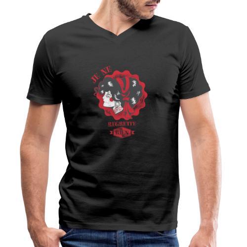 Je ne regrette rien - Männer Bio-T-Shirt mit V-Ausschnitt von Stanley & Stella