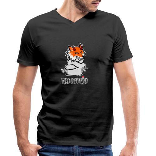 fuxdeifelswild - Männer Bio-T-Shirt mit V-Ausschnitt von Stanley & Stella