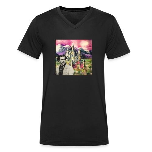Ludwig und Neuschwanstein - Men's Organic V-Neck T-Shirt by Stanley & Stella