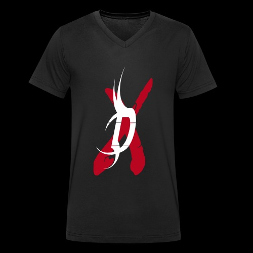 disclaimer d - Männer Bio-T-Shirt mit V-Ausschnitt von Stanley & Stella