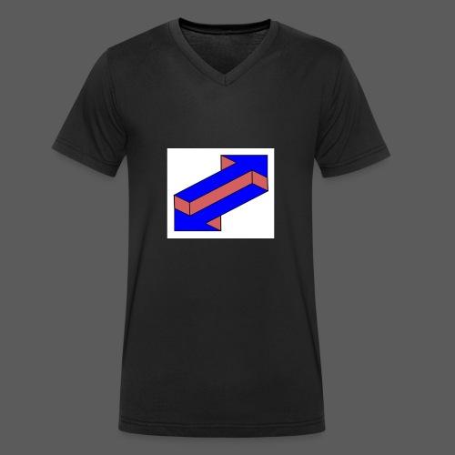 Frecce - T-shirt ecologica da uomo con scollo a V di Stanley & Stella