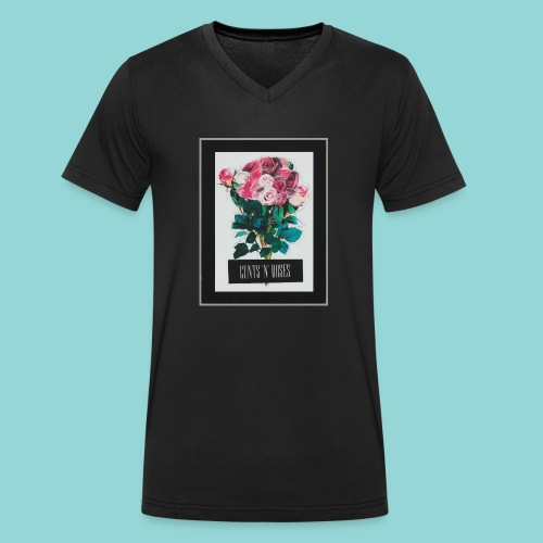 cunts_n_roses_MAIN - Männer Bio-T-Shirt mit V-Ausschnitt von Stanley & Stella