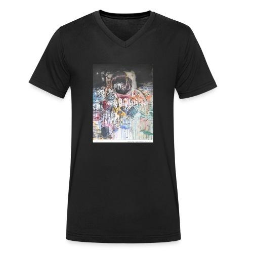 astronaut - Männer Bio-T-Shirt mit V-Ausschnitt von Stanley & Stella
