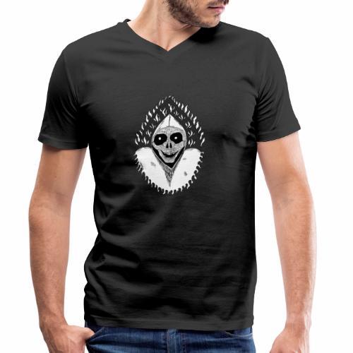 Grimp reaper blank text black & white - T-shirt bio col V Stanley & Stella Homme