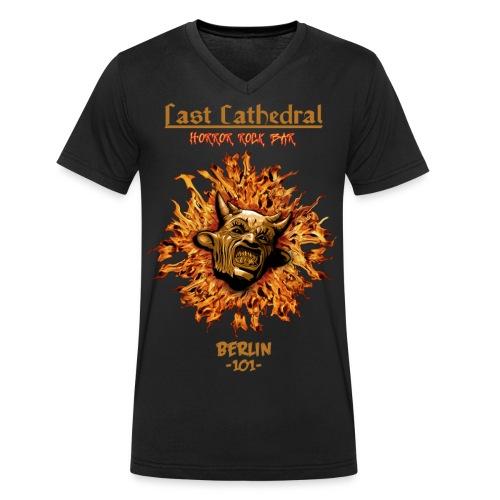 Last Cathdral - Männer Bio-T-Shirt mit V-Ausschnitt von Stanley & Stella