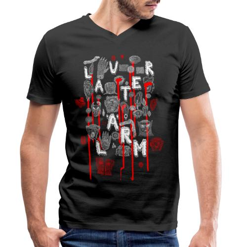 Lauter Lärm by Andi Haslauer - Männer Bio-T-Shirt mit V-Ausschnitt von Stanley & Stella