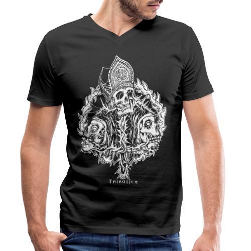 Godless by Tributica - Männer Bio-T-Shirt mit V-Ausschnitt von Stanley & Stella