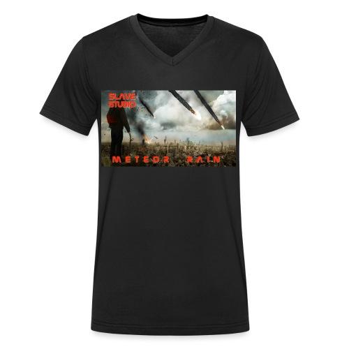 Meteor rain - T-shirt ecologica da uomo con scollo a V di Stanley & Stella