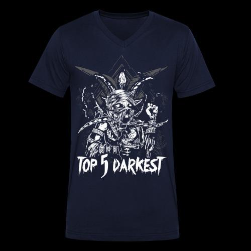 Top 5 Darkest - Men's Organic V-Neck T-Shirt by Stanley & Stella