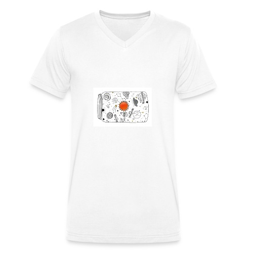 cosmos - Männer Bio-T-Shirt mit V-Ausschnitt von Stanley & Stella