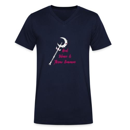 Soraka Main - Männer Bio-T-Shirt mit V-Ausschnitt von Stanley & Stella