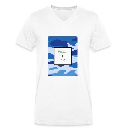 My channel - Men's Organic V-Neck T-Shirt by Stanley & Stella