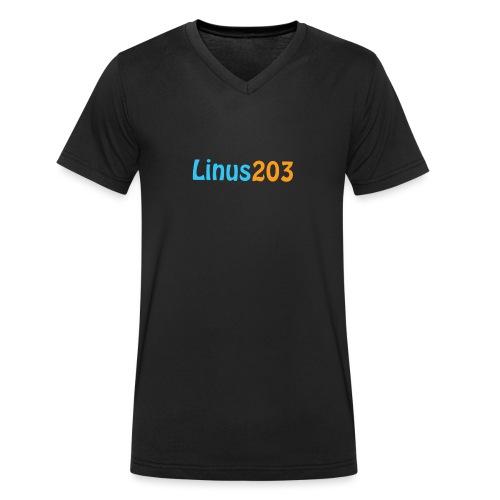 Loga - Ekologisk T-shirt med V-ringning herr från Stanley & Stella