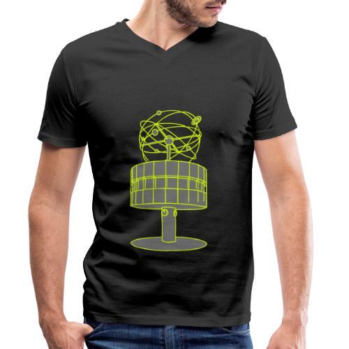 Weltzeituhr Berlin 2 - Männer Bio-T-Shirt mit V-Ausschnitt von Stanley & Stella