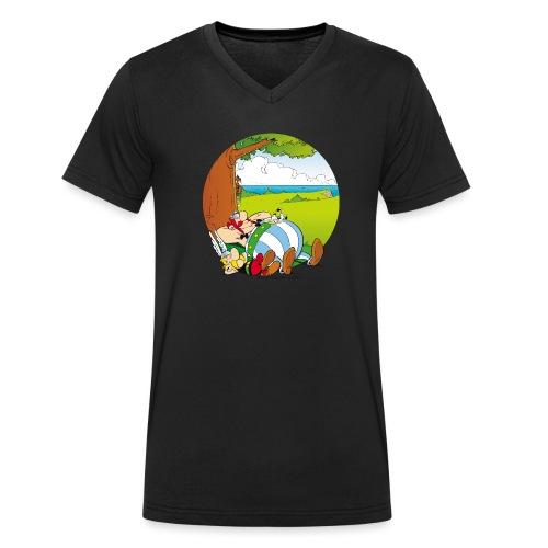 Astérix & Obélix Font Une Sieste - T-shirt bio col V Stanley & Stella Homme