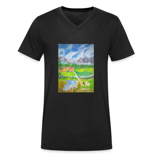 LandIMG 20180818 140244 - Männer Bio-T-Shirt mit V-Ausschnitt von Stanley & Stella