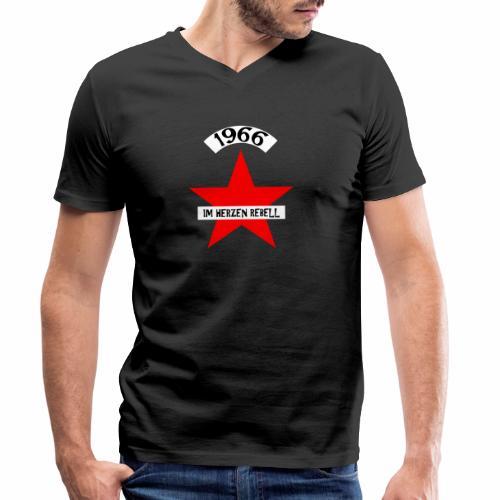 1966 - Im Herzen Rebell - Männer Bio-T-Shirt mit V-Ausschnitt von Stanley & Stella