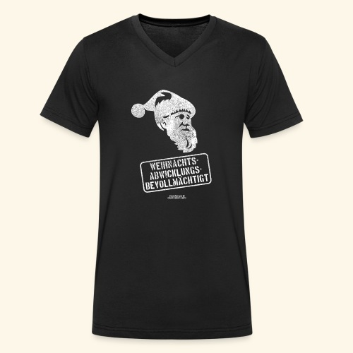 Ugly Christmas Design für Weihnachten - Männer Bio-T-Shirt mit V-Ausschnitt von Stanley & Stella