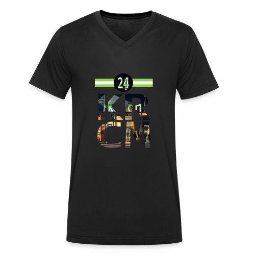 KRCM - Mannen bio T-shirt met V-hals van Stanley & Stella