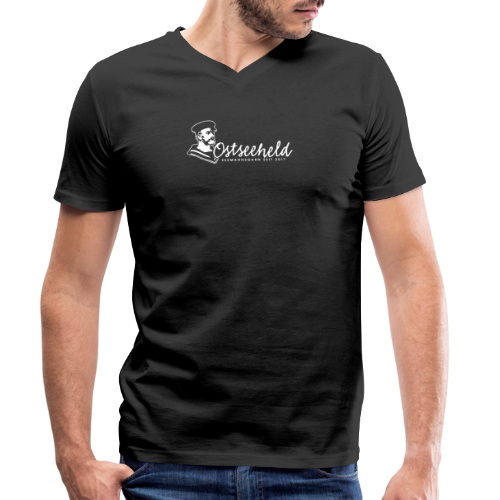 Ostseeheld 2 - Männer Bio-T-Shirt mit V-Ausschnitt von Stanley & Stella