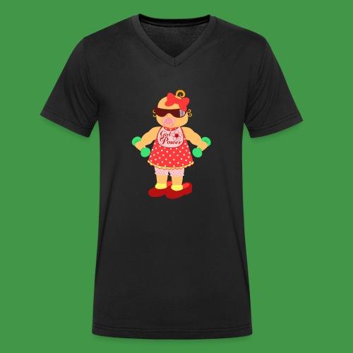 Girl Power 6 - Männer Bio-T-Shirt mit V-Ausschnitt von Stanley & Stella