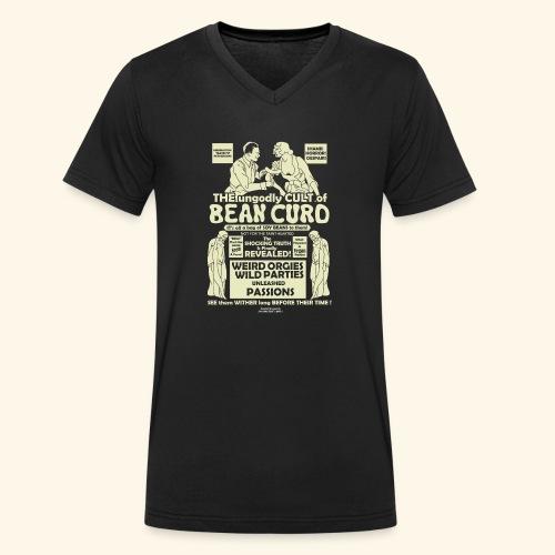 Vegan Tofu T Shirt Design Bean Curd - Männer Bio-T-Shirt mit V-Ausschnitt von Stanley & Stella