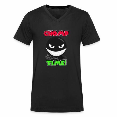 Chomp time - Camiseta ecológica hombre con cuello de pico de Stanley & Stella