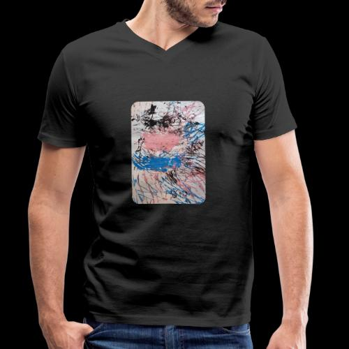 Emelie Kunstwerk V. - Männer Bio-T-Shirt mit V-Ausschnitt von Stanley & Stella