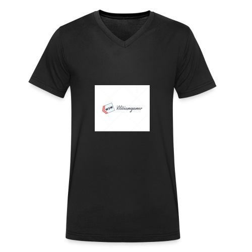 Williamgmer - Ekologisk T-shirt med V-ringning herr från Stanley & Stella