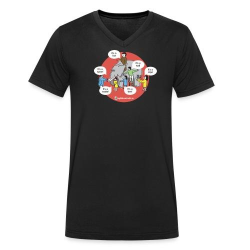 upphandlingsdilemmat - Ekologisk T-shirt med V-ringning herr från Stanley & Stella