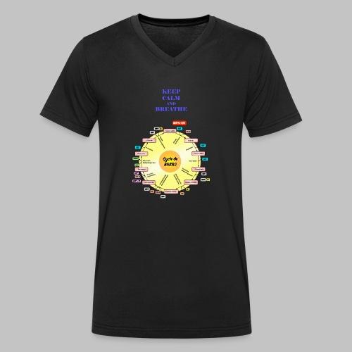 Krebs Cycle - Men's Organic V-Neck T-Shirt by Stanley & Stella