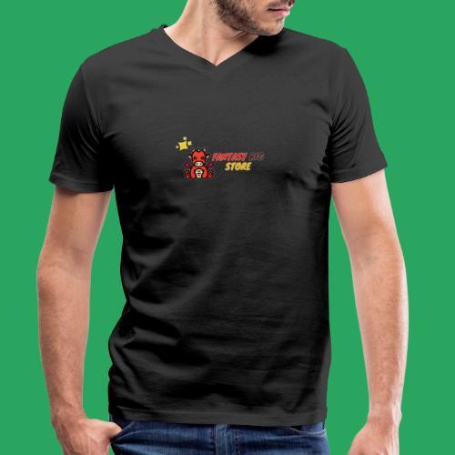 Fantasy big store - T-shirt ecologica da uomo con scollo a V di Stanley & Stella