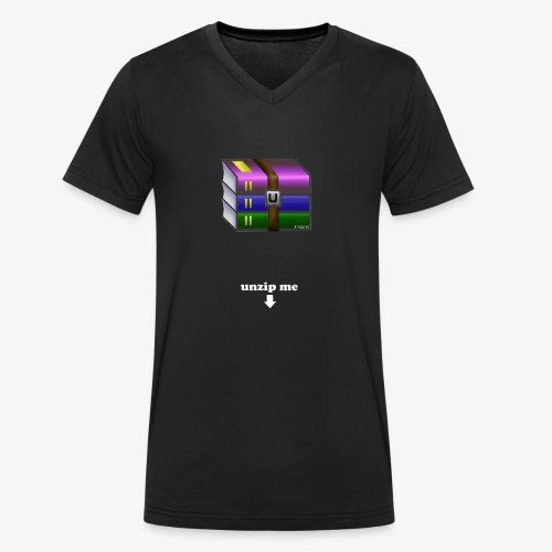 unzip me - T-shirt bio col V Stanley & Stella Homme
