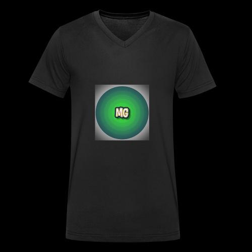 mg - Mannen bio T-shirt met V-hals van Stanley & Stella