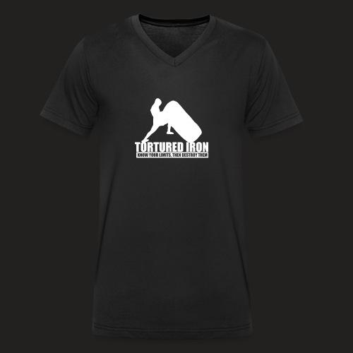Strongman Tyr - Men's Organic V-Neck T-Shirt by Stanley & Stella