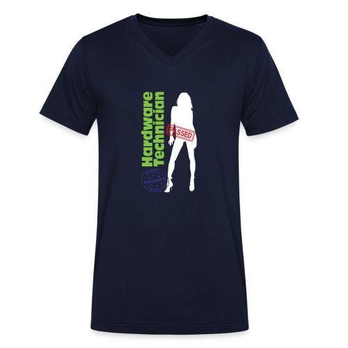 Hardware Technician - T-shirt ecologica da uomo con scollo a V di Stanley & Stella