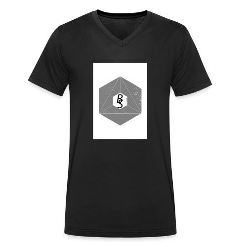 best logo - Økologisk T-skjorte med V-hals for menn fra Stanley & Stella