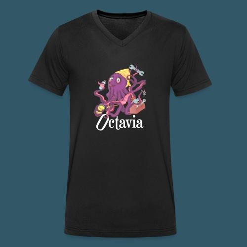 octavia-2 - Männer Bio-T-Shirt mit V-Ausschnitt von Stanley & Stella