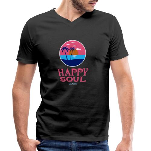 Happy Soul! - Männer Bio-T-Shirt mit V-Ausschnitt von Stanley & Stella