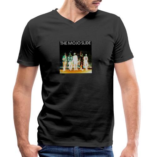 The Mojo Slide - Design 2 - Men's Organic V-Neck T-Shirt by Stanley & Stella