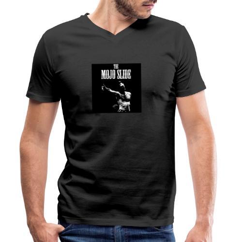 The Mojo Slide - Design 1 - Men's Organic V-Neck T-Shirt by Stanley & Stella