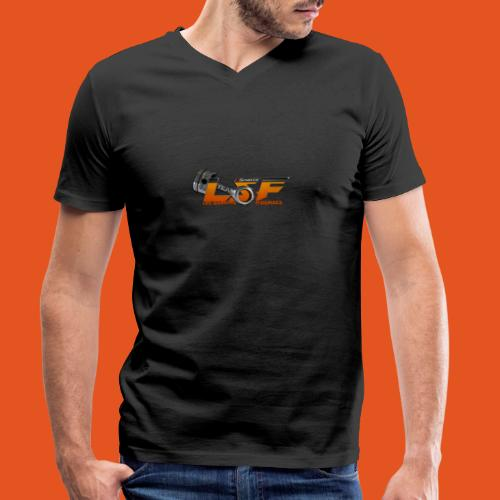 LSFlogo - T-shirt bio col V Stanley & Stella Homme