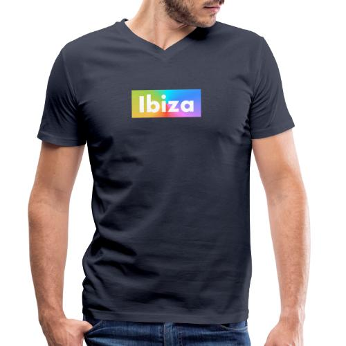 IBIZA Color - Men's Organic V-Neck T-Shirt by Stanley & Stella