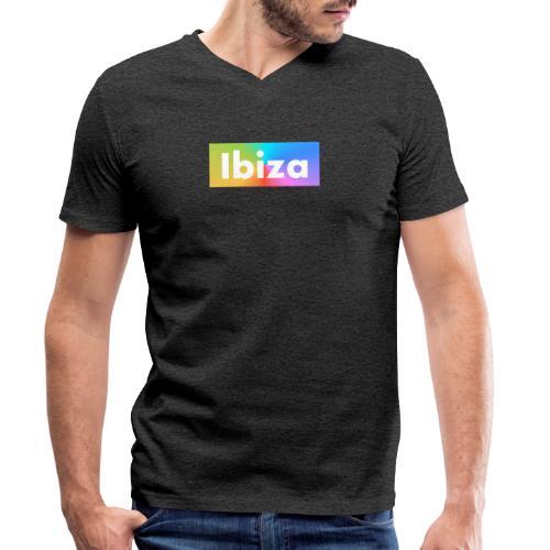 IBIZA Color - Men's Organic V-Neck T-Shirt by Stanley & Stella