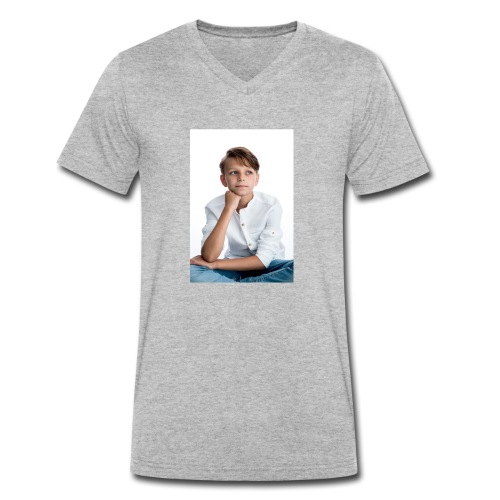 Sjonny - Mannen bio T-shirt met V-hals van Stanley & Stella