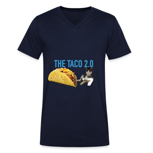 IMG 2232 - Ekologisk T-shirt med V-ringning herr från Stanley & Stella