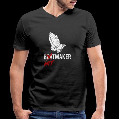 HitMaker Blanc - T-shirt bio col V Stanley & Stella Homme