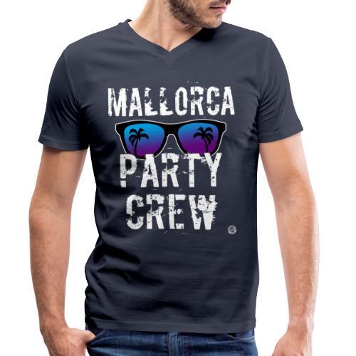 MALLORCA PARTY CREW Shirt - Dames Heren Dames - Mannen bio T-shirt met V-hals van Stanley & Stella